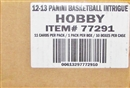 2012/13 Panini Intrigue Basketball Hobby 10-Box Case