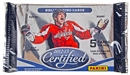 Image for  4x 2012/13 Panini Certified Hockey Hobby Pack