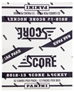 2012/13 Score Hockey Rack Pack Box (12 Packs)
