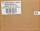 2012/13 Panini Threads Basketball Hobby 12-Box Case