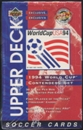 1994 Upper Deck World Cup English/Spanish Contenders Soccer Retail 36-Pack Box