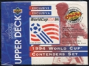 1994 Upper Deck World Cup English/Spanish Contenders Soccer Retail 20-Pack Box