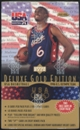1996/97 Upper Deck USA Gold Edition Basketball Value Added Box