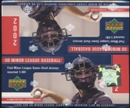 2002 Upper Deck Minor League Baseball Retail Box