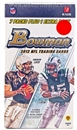 2012 Bowman Football 8-Pack Box