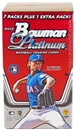 2012 Bowman Platinum Baseball Blaster 8-Pack Box