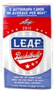 2012/13 Leaf Basketball 12-Pack Box (2 Autos Per Box!) (10-Box Lot)