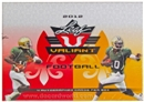 2012 Leaf Valiant Football Hobby Box