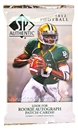2012 Upper Deck SP Authentic Football Hobby Pack