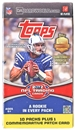 2012 Topps Football Retail 10-Pack Box (PLUS One Patch Card!)