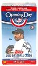 2012 Topps Opening Day Baseball 11-Pack Box