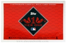 2012 Topps Tier One Baseball Hobby Box