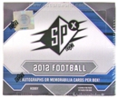 2012 Upper Deck SPx Football Hobby Box