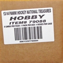2013-14 Panini National Treasures Hockey Case - DACW Live 30 Spot Random Team Break #14