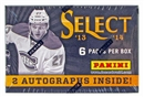 2013/14 Panini Select Hockey Hobby Mini-Box