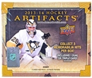 2013/14 Upper Deck Artifacts Hockey Hobby Box