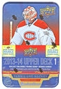 2013-14 Upper Deck Series 1 Hockey Retail Tin (Box)