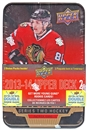2013-14 Upper Deck Series 2 Hockey Retail Tin (Box)