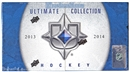 2013-14 Upper Deck Ultimate Collection Hockey Hobby Box (PLUS 1 UD 25th Anniversary Pack)