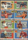 1955 Topps All American Football Lot of 107 (67 Different) (EX)