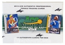 2013 Leaf Ace Authentic Grand Slam Tennis Hobby Box 10 AUTOS PER BOX!!!