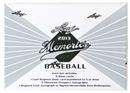 2013 Leaf Memories Baseball Hobby Box