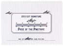 2013 Leaf Cut Signature Pride of the Pinstripe Baseball Hobby Box