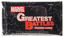 Marvel Greatest Battles Trading Cards Pack (Rittenhouse 2013)