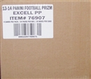 2013 Panini Prizm Football 24-Pack 20-Box Case