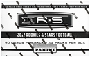 2013 Panini Rookies & Stars Football Rack Pack Box