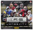 Image for  2x 2013 Panini Rookies & Stars Longevity Football Box (4 Autos or Mem per Box!)