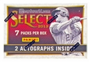 2013 Panini Select Baseball Hobby Mini-Box