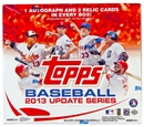 2013 Topps Update Baseball Jumbo Box (Puig RC!)