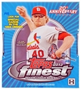 2013 Topps Finest Baseball Hobby Box