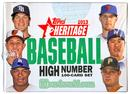 Image for  2013 Topps Heritage High Number Baseball Hobby Box (Set)