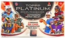 2013 Topps Platinum Football Hobby Box