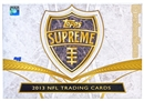 2013 Topps Supreme Football Hobby Box
