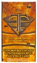 2013 Topps Triple Threads Football Hobby Mini-Box (Pack)