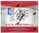 2013 Upper Deck SPx Football Hobby Box