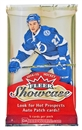 2014/15 Upper Deck Fleer Showcase Hockey Hobby Pack
