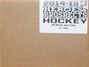 2014/15 Leaf ITG Heroes & Prospects Hockey Hobby 10-Box Case