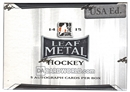 2014/15 Leaf Metal Hockey Hobby Box