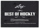 2014/15 Leaf Best Of Hockey Hobby Box