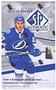 2014/15 Upper Deck SP Authentic Hockey Hobby Box
