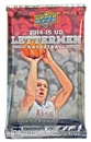 Image for  5x 2014/15 Upper Deck Lettermen Basketball Hobby Pack