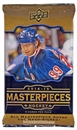 2014/15 Upper Deck Masterpieces Hockey Hobby Pack