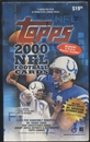 2000 Topps Football 22 Pack Blaster Box