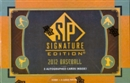 2012 Upper Deck SP Signature Edition Baseball Hobby Pack