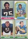 1974 Topps Football Partial Set (NM-MT)