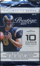 Image for  3x 2011 Panini Prestige Football Retail Pack